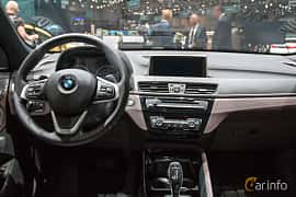 Interior of BMW X1 xDrive18d  Steptronic, 150ps, 2018 at Geneva Motor Show 2018