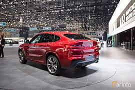 Back/Side of BMW X4 M40d  Steptronic, 326ps, 2018 at Geneva Motor Show 2018