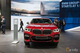 Front  of BMW X4 M40d  Steptronic, 326ps, 2018 at Geneva Motor Show 2018