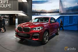 Front/Side  of BMW X4 M40d  Steptronic, 326ps, 2018 at Geneva Motor Show 2018