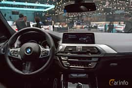 Interior of BMW X4 M40d  Steptronic, 326ps, 2018 at Geneva Motor Show 2018