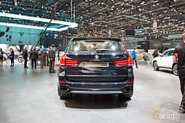 Back of BMW X5 M50d  Steptronic, 381ps, 2018 at Geneva Motor Show 2018