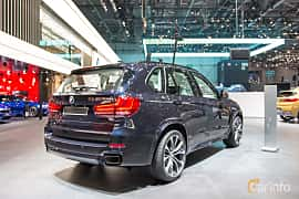 Back/Side of BMW X5 M50d  Steptronic, 381ps, 2018 at Geneva Motor Show 2018