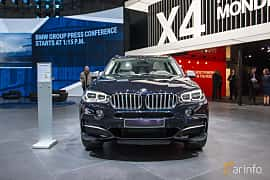Front  of BMW X5 M50d  Steptronic, 381ps, 2018 at Geneva Motor Show 2018