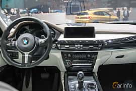 Interior of BMW X5 M50d  Steptronic, 381ps, 2018 at Geneva Motor Show 2018