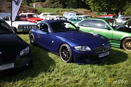 Front/Side  of BMW Z4 M Coupé 3.2 Manual, 343ps, 2007 at Tjolöholm Classic Motor 2018