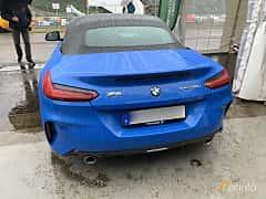 Back of BMW Z4 sDrive20i  Steptronic, 197ps, 2019 at Svenskt sportvagnsmeeting 2019