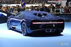 Bak/Sida av Bugatti Chiron 8.0 W16 DSG Sequential, 1521ps, 2017