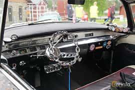 Interior of Buick Century 4-door Riviera 5.3 V8 Automatic, 259ps, 1956 at Motorträff på Olofsfors Bruk 2019