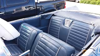 Interior of Buick Electra 225 Convertible 6.6 V8 Automatic, 305ps, 1959 at Nostalgidagarna Härnösand 2019