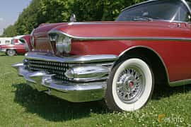 Close-up of Buick Limited 2-door Riviera 6.0 V8 Automatic, 305ps, 1958