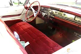 Interior of Buick Limited 2-door Riviera 6.0 V8 Automatic, 305ps, 1958