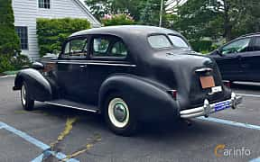 Bak/Sida av Buick Special 2-door Trunk Back Sedan 4.1 Manual, 101ps, 1937