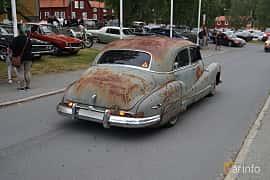 Back/Side of Buick Super Sedan 4.1 Manual, 112ps, 1946 at Onsdagsträffar på Gammlia Umeå 2019 vecka 32