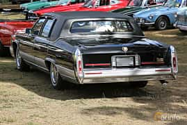 Back/Side of Cadillac Brougham 5.0 V8 Automatic, 142ps, 1989 at Grensetreff Halden 2018