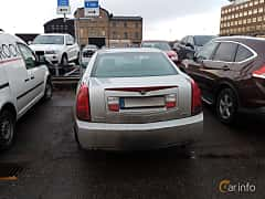 Back of Cadillac CTS 3.6 V6 Automatic, 257ps, 2005