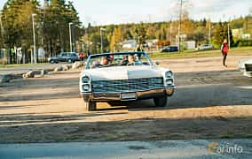 Front  of Cadillac De Ville Convertible 7.0 V8 OHV Hydra-Matic, 345ps, 1966 at Wheelers Cruising, Vetlanda 2019