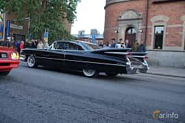 Back/Side of Cadillac Coupé de Ville 6.4 V8 OHV Hydra-Matic, 330ps, 1959 at Umeå Wheels Nations Norr 2019
