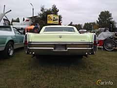 Back of Cadillac Calais Hardtop Sedan 7.0 V8 OHV Hydra-Matic, 345ps, 1966 at Old Car Land no.2 2017