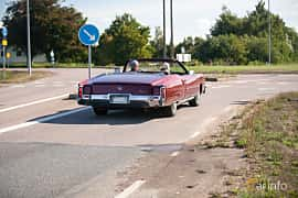 Back/Side of Cadillac Fleetwood Eldorado Convertible 8.2 V8 Hydra-Matic, 238ps, 1972 at Lergökarallyt 2018