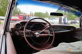 Interiör av Cadillac Eldorado Biarritz 6.4 V8 OHV Hydra-Matic, 349ps, 1959 på Onsdagsträffar på Gammlia Umeå 2019 vecka 23