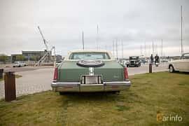 Back of Cadillac Eldorado Coupé 5.7 V8 Hydra-Matic, 173ps, 1979 at Veteranbilsträff i Vikens hamn  2019 Maj