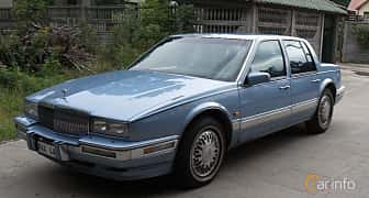 Front/Side of Cadillac Seville 4.5 V8 Automatic, 182ps, 1990