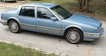 Side of Cadillac Seville 4.5 V8 Automatic, 182ps, 1990