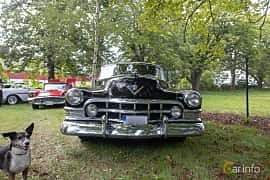 Front  of Cadillac Sixty-One Coupé 5.4 V8 Hydra-Matic, 162ps, 1950 at Billesholms Veteranbilsträff 2019 augusti