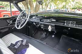 Interior of Cadillac Sixty-One Coupé 5.4 V8 Hydra-Matic, 162ps, 1950 at Billesholms Veteranbilsträff 2019 augusti