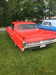 Back/Side of Cadillac Fleetwood Sixty Special 6.4 V8 OHV Hydra-Matic, 330ps, 1962