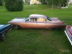 Sida av Cadillac Fleetwood Sixty Special 6.4 V8 OHV Hydra-Matic, 330ps, 1960