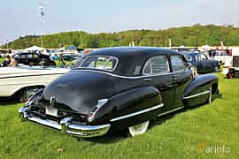 Bak/Sida av Cadillac Fleetwood Sixty Special 5.7 V8 Hydra-Matic, 152ps, 1946 på Tjolöholm Classic Motor 2019