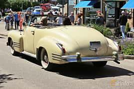 Bak/Sida av Cadillac Sixty-Two De Luxe Convertible Coupé 5.7 V8 Manual, 152ps, 1941 på Cruising Lysekil 2019