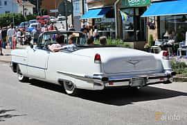 Bak/Sida av Cadillac Sixty-Two Convertible Coupé 6.0 V8 Automatic, 289ps, 1956 på Cruising Lysekil 2019