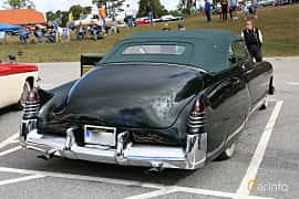 Back/Side of Cadillac Sixty-Two Convertible Coupé 5.7 V8 Hydra-Matic, 152ps, 1948 at Grensetreff Halden 2018