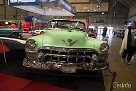 Front  of Cadillac Sixty-Two Convertible 5.4 V8 Hydra-Matic, 213ps, 1953 at Bilsport Performance & Custom Motor Show 2018