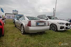 Bak/Sida av Cadillac XLR 4.6 V8 Automatic, 326ps, 2008 på Vallåkraträffen 2019