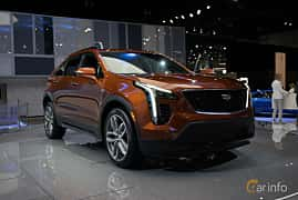 Front/Side  of Cadillac XT4 2.0 Turbo AWD Automatic, 241ps, 2019 at LA Motor Show 2018