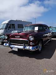Front/Side  of Chevrolet One-Fifty 2-door Sedan 4.3 V8 Manual, 183ps, 1955