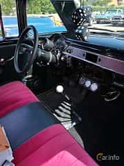 Interior of Chevrolet One-Fifty 2-door Sedan 4.3 V8 Manual, 183ps, 1955