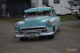 Front/Side  of Chevrolet 210 4-door Sedan 3.9 Manual, 110ps, 1953 at Tisdagsträffarna Vikingatider v.25 / 2017