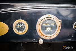 Interior of Chevrolet 490 Touring 2.8 Manual, 26ps, 1919 at Veteranbilsträff i Vikens hamn Juni 2016
