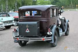 Back/Side of Chevrolet AE Independence 3.2 Manual, 50ps, 1931 at Kungälvs Kulturhistoriska Fordonsvänner 2018 v.33