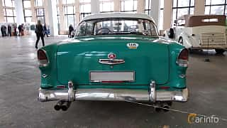 Back of Chevrolet Bel Air Sport Coupé 4.3 V8 Powerglide, 165ps, 1955 at Old Car Land no.2 2018