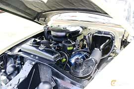 Engine compartment  of Chevrolet Bel Air Sport Coupé 1957 at Hässleholm Power Start of Summer Meet 2016