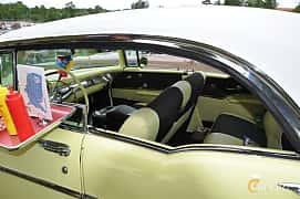 Interior of Chevrolet Bel Air Sport Coupé 1957 at Hässleholm Power Start of Summer Meet 2016