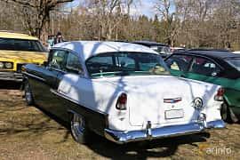 Bak/Sida av Chevrolet Bel Air 2-door Sedan 4.3 V8 Powerglide, 183ps, 1955 på Uddevalla Veteranbilsmarknad Backamo, Ljungsk 2019