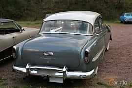 Back/Side of Chevrolet Bel Air 4-door Sedan 3.9 Manual, 117ps, 1954 at Kungälvs Kulturhistoriska Fordonsvänner  2018 v.35