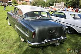 Back/Side of Chevrolet Bel Air 4-door Sedan 3.9 Manual, 117ps, 1954 at Lödöse motornostalgiska dag 2018 10 års jubileum